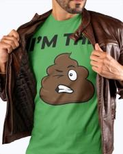 I'm the shit premium T-shirt Saint Patrick day  Premium Fit Mens Tee apparel-premium-fit-men-tee-lifestyle-front-18