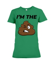 I'm the shit premium T-shirt Saint Patrick day  Premium Fit Ladies Tee tile