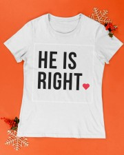 He is right Premium Women Tshirt - Couple Tee Premium Fit Ladies Tee apparel-premium-fit-ladies-tee-lifestyle-15