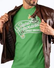 Saint Patrick day lucky charm Premium T-shirt Premium Fit Mens Tee apparel-premium-fit-men-tee-lifestyle-front-18