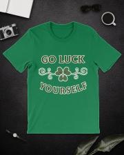 Go luck yourself version 2 Premium T-shirt Premium Fit Mens Tee lifestyle-mens-crewneck-front-16