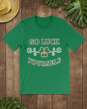 Go luck yourself version 2 Premium T-shirt Premium Fit Mens Tee lifestyle-mens-crewneck-front-18