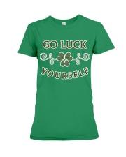 Go luck yourself version 2 Premium T-shirt Premium Fit Ladies Tee thumbnail
