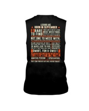 Legends are born in September Sleeveless Tee thumbnail