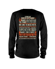 Legends are born in September Long Sleeve Tee tile
