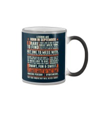 Legends are born in September Color Changing Mug thumbnail