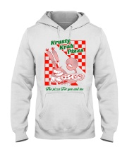 krusty krab pizza the pizza for you and me t-shirt Hooded Sweatshirt thumbnail