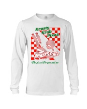 krusty krab pizza the pizza for you and me t-shirt Long Sleeve Tee thumbnail