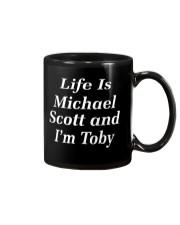 life is michael scott and i'm toby Mug thumbnail