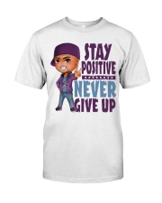 Stay Positive Classic T-Shirt tile