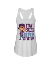 Stay Positive Ladies Flowy Tank thumbnail