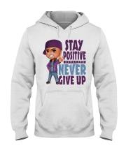 Stay Positive Hooded Sweatshirt thumbnail