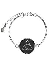 Dark Serie Symbol  Metallic Circle Bracelet thumbnail