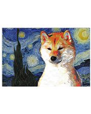 Red Shiba Inu 17x11 Poster front