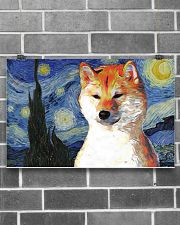 Red Shiba Inu 17x11 Poster poster-landscape-17x11-lifestyle-18