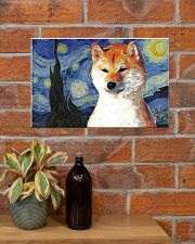 Red Shiba Inu 17x11 Poster poster-landscape-17x11-lifestyle-23