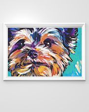Yorkshire Terrier YORKIE ART PRINT 36x24 Poster poster-landscape-36x24-lifestyle-02