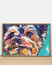 Yorkshire Terrier YORKIE ART PRINT 36x24 Poster poster-landscape-36x24-lifestyle-03