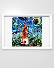 Shiba Inu Art Starry Night  36x24 Poster poster-landscape-36x24-lifestyle-02
