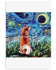 Shiba Inu Art Starry Night  24x36 Poster thumbnail