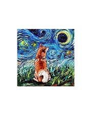 Shiba Inu Art Starry Night  Square Magnet thumbnail