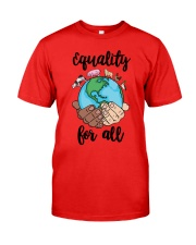 EQUALITY for all Classic T-Shirt front