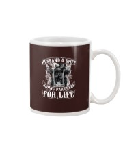 Husband And Wife Riding Partners For Life Mug thumbnail