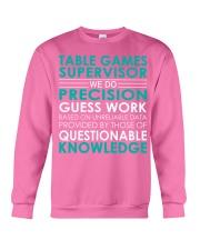 Table Games Supervisor Crewneck Sweatshirt thumbnail