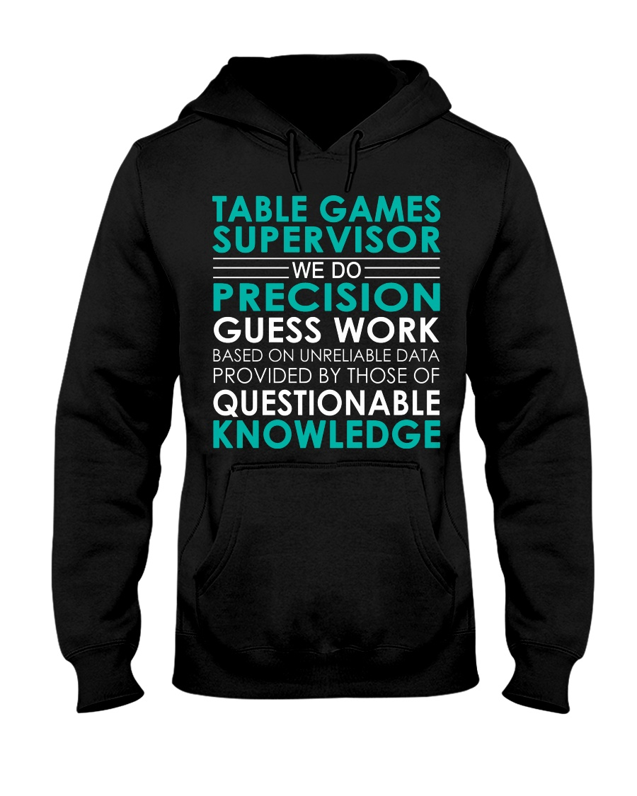 Table Games Supervisor Hooded Sweatshirt