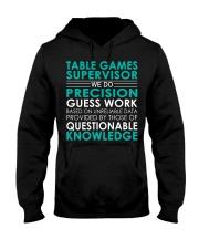Table Games Supervisor Hooded Sweatshirt front