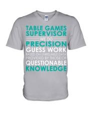 Table Games Supervisor V-Neck T-Shirt thumbnail