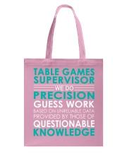 Table Games Supervisor Tote Bag thumbnail