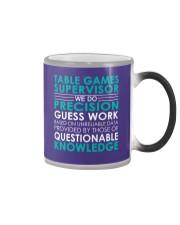 Table Games Supervisor Color Changing Mug thumbnail