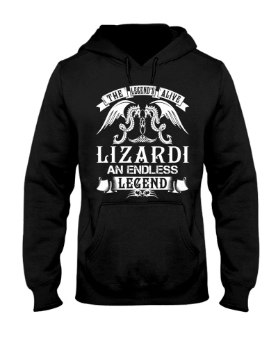 LIZARDI - Legend Alive Name Shirts