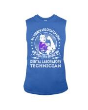 Dental Laboratory Technician - Women Job Title Sleeveless Tee thumbnail