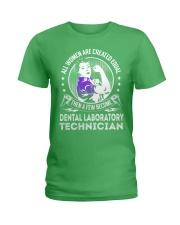Dental Laboratory Technician - Women Job Title Ladies T-Shirt thumbnail