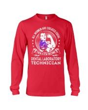 Dental Laboratory Technician - Women Job Title Long Sleeve Tee thumbnail