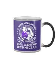 Dental Laboratory Technician - Women Job Title Color Changing Mug thumbnail