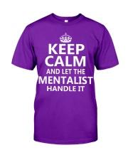 Mentalist - Keep Calm Job Title Classic T-Shirt thumbnail