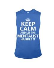 Mentalist - Keep Calm Job Title Sleeveless Tee thumbnail