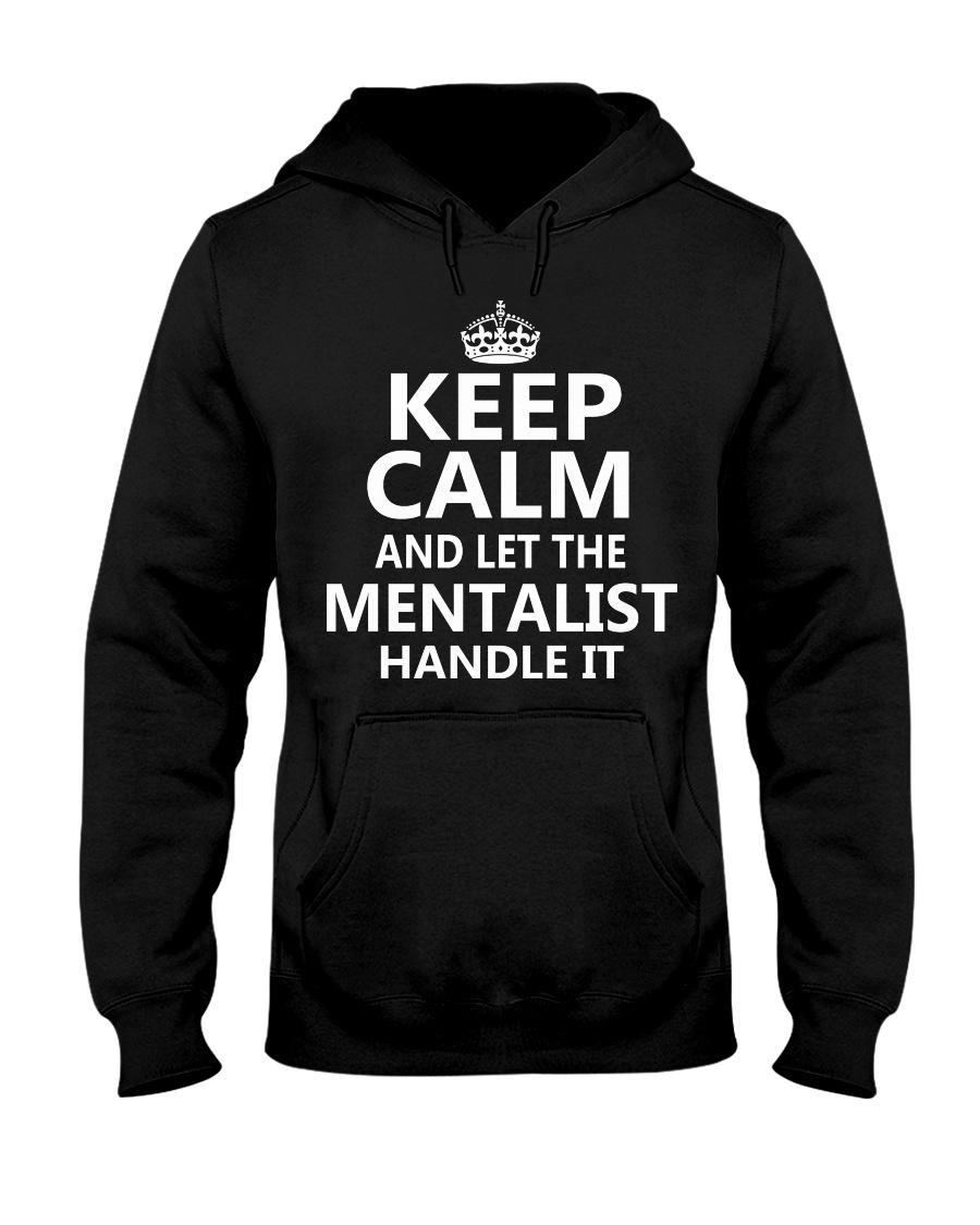 Mentalist - Keep Calm Job Title Hooded Sweatshirt