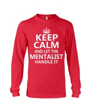 Mentalist - Keep Calm Job Title Long Sleeve Tee thumbnail