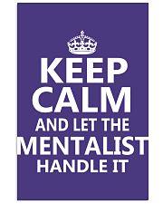 Mentalist - Keep Calm Job Title 11x17 Poster thumbnail
