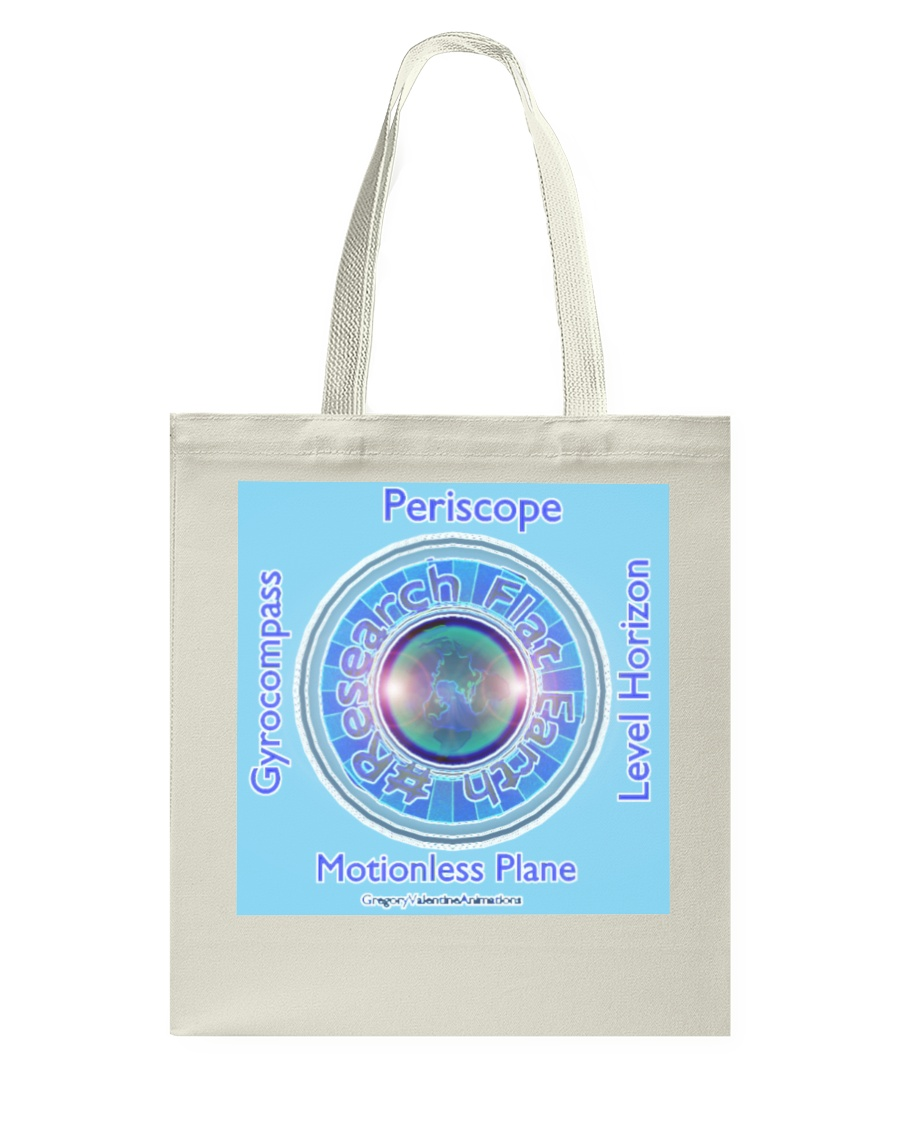 Flat Earth NYC Designs Tote Bag