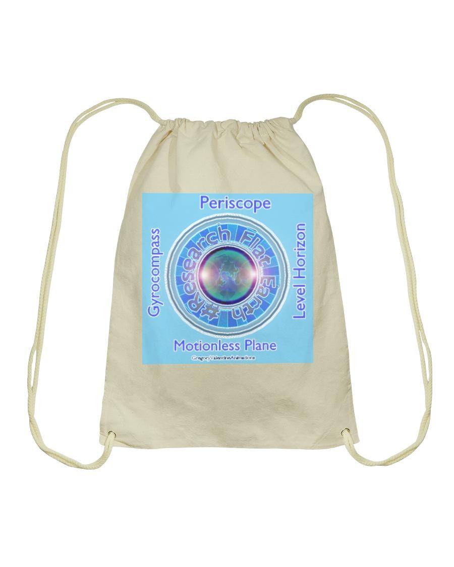 Flat Earth NYC Designs Drawstring Bag
