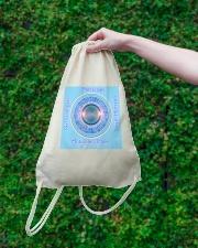 Flat Earth NYC Designs Drawstring Bag lifestyle-drawstringbag-front-3