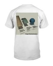 Flat Earth NYC Designs Classic T-Shirt back