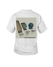 Flat Earth NYC Designs Youth T-Shirt back