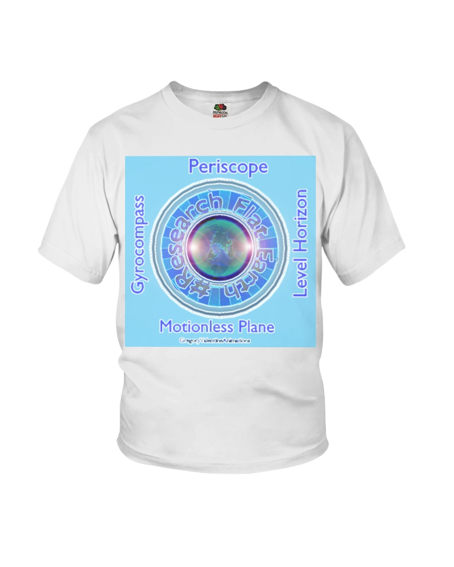 Flat Earth NYC Designs Youth T-Shirt
