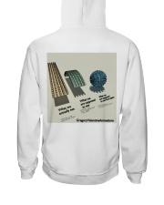 Flat Earth NYC Designs Hooded Sweatshirt back